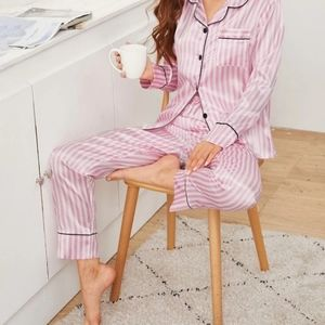 Victoria's Secret Satin Pjs